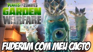 getlinkyoutube.com-Plants vs Zombies Garden Warfare - FUDERAM COM O MEU CACTO RAGE