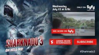 getlinkyoutube.com-Sharknado 3  Oh Hell No! Official Extended Trailer