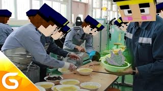 getlinkyoutube.com-감옥에서 준 밥이 알고보니 악마의 열매..?!  [병맛 스토리모드 상황극 : 악마의 열매 모드 *폭탄폭탄 열매*] 마인크래프트 Minecraft [진호]
