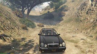 getlinkyoutube.com-GTA 5 Mercedes Benz E420 W210