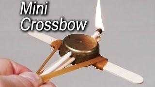 getlinkyoutube.com-How to Make a Mini Crossbow
