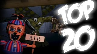 getlinkyoutube.com-FNaF TOP 20 BEST EDITS COMPILATION | All FNaFs | WayTwo