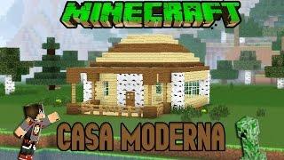 Download video minecraft casa moderna de madera facil for Casa moderna facil minecraft tutorial