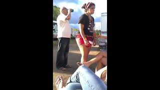 getlinkyoutube.com-Girl Giving It To Old Guy At WeFest 2012