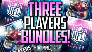 getlinkyoutube.com-3x PLAYERS PACK BUNDLES! INSANE PACK OPENING! Madden Mobile