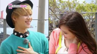 getlinkyoutube.com-We Got Married, Tae-min, Na-eun(1) #08, 태민-손나은(1) 20130427