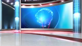 getlinkyoutube.com-free virtual news studio background globe close HD