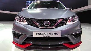 getlinkyoutube.com-2015 Nissan Pulsar Nismo Concept - Exterior Walkaround - Debut at 2014 Paris Auto show