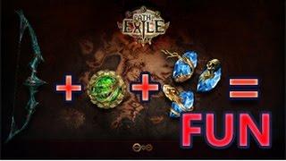 getlinkyoutube.com-Path of Exile Cast On Crit Ranger Build