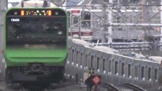 getlinkyoutube.com-【ファーストラン】山手線新型車両 E235系乗車ルポ