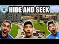 HIDE AND SEEK AT UNIVERSITY!! COLLEGE