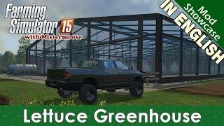 getlinkyoutube.com-Farming Simulator 2015 - Lettuce Greenhouse - Mod Showcase
