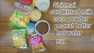 Shinmai dip chocolate