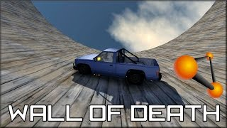 getlinkyoutube.com-BeamNG Drive Wall Of Death
