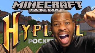 getlinkyoutube.com-Minecraft Pocket Edition - HYPIXEL SERVER! - EPIC Hunger Games!