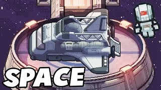 ESCAPING From Space Station & ROBOT ARMY! (The Escapists 2 Multiplayer Gameplay USS Anomaly)