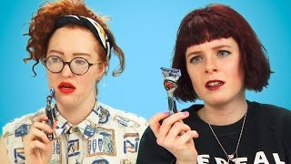 Women Try Men's Grooming Products