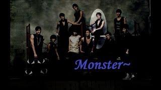 getlinkyoutube.com-Super Junior - Monster (English Lyrics)