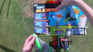 Review: Sky Glider's by Zing, pretty wacky foam planes