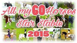 getlinkyoutube.com-ALL MY 60 HORSES 2015 Star Stable