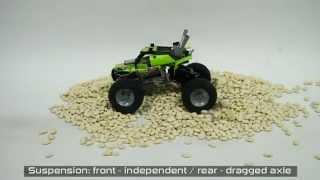 getlinkyoutube.com-Lego Technic Motorized Mini Monster Truck