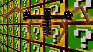getlinkyoutube.com-CAMEL Lucky Blocks | DRAGON+WITHER | Desafío de la Suerte Especial - #191
