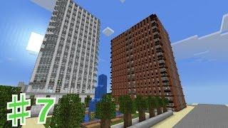 【マイクラ】PEで目指すは大都市!♯7街紹介