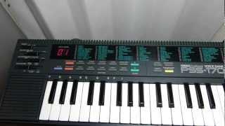 YAMAHA PSS-170 Demonstration song
