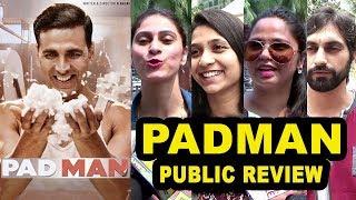 Padman Movie Review Public Review- First Day First Show- Akshay Kumar, Sonam Kapoor, Radhika Apte