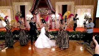 Jaipongan Mojang Priangan at MARCEL & JANE wedding party width=
