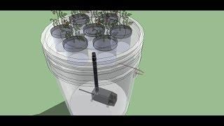 getlinkyoutube.com-5 Gallon Bucket Aeroponics - The easiest aeroponics system to build - Full Class HD