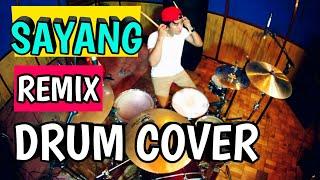 Via vallen - Sayang - remix version (Drum cover)