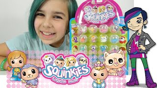getlinkyoutube.com-Squinkies - Series 18 - Opening with 4 Surprise - So Cute!