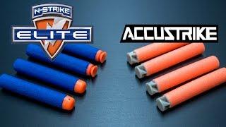 getlinkyoutube.com-Nerf Accustrike Darts | The UPGRADED Elite Darts!