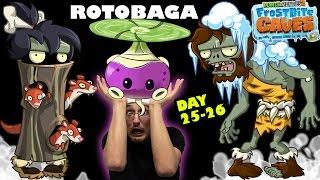 getlinkyoutube.com-FGTeeV Dad Gets Mad @ Pesky Snow Weasels! The Rotobaga Journey! (PVZ 2 Day 25 & 26)