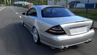 getlinkyoutube.com-Mercedes CL 500 Lorinser - Sound / Acceleration / Onboard
