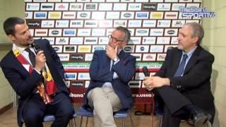 Fabiani, Mezzaroma, Menichini e Russo commentano la promozione della Salernitana
