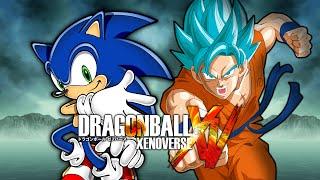 getlinkyoutube.com-Sonic VS SSGSS Goku | Dragon Ball Xenoverse MODS (Duels)