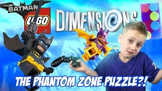 The Phantom Zone!! The LEGO Batman Movie Story Pack Level 5! Let's Play LEGO DIMENSIONS