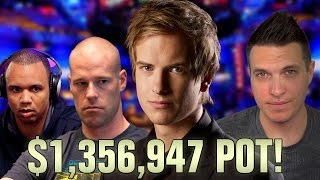 Isildurs Top 5 BIGGEST Pots (ft. Phil Ivey and Patrik Antonius)
