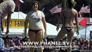 getlinkyoutube.com-Biketoberfest 2009 Coleslaw Wrestling at Cabbage Patch Bar