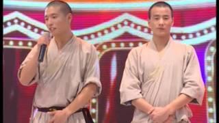 "getlinkyoutube.com-อจ.จู ฉีกั๋ว โชว์กังฟูเส้าหลิน ในรายการสตาร์สเตจ / Master.Zhu QiGuo on ""Star Stage"" Thai TV program."