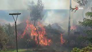 Son dakika Antalya haber: Falezlerde yangın çıktı!