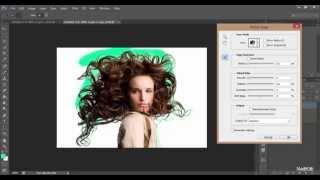 getlinkyoutube.com-การไดคัทเส้นผมให้ได้ทุกเส้นเสมือนจริง - Photoshop