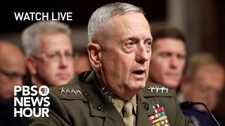 WATCH LIVE: James Mattis confirmation hearing