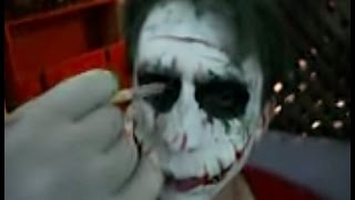 getlinkyoutube.com-Maquiagem Coringa Joker makeup - SLUG -