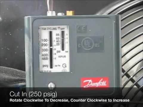 Adjusting A Danfoss Fan Cycle Switch
