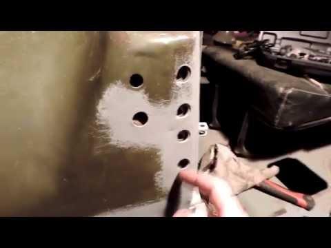 Задача: извлечь закладную пластину УАЗ-469
