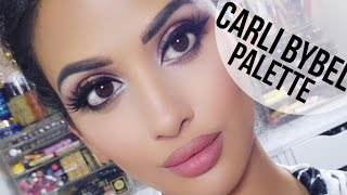 getlinkyoutube.com-Gorgeous Makeup w/ Carli Bybel Palette | irenesarah