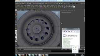 getlinkyoutube.com-How to Model a Truck Wheel in Maya 2013